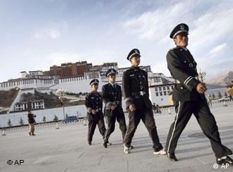 Security is tight in Lhasa ahead of the anniversaries in March