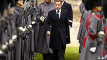 Sarkozy in London