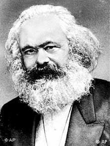 Portrait von Karl Marx