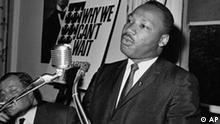 Martin Luther King Pressekonferenz