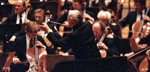 Deutschland Musik Dirigent Herbert von Karjan Jahrestag