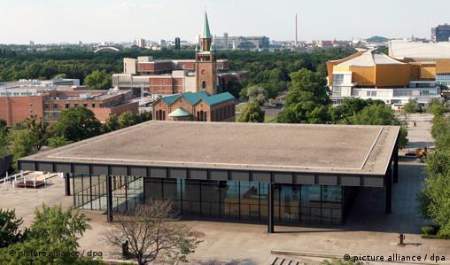 Berlin - Neue Nationalgalerie und Philharmonie