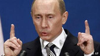 Russian President Vladimir Putin at the NATO summit