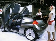 Концепткар электромобиля MIXIM японской компании Nissan