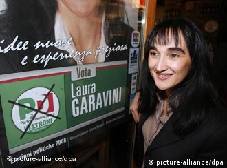 Laura Garavini kicked off her campaign in Berlin in mid-March