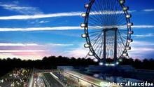 Singapore Flyer Riesenrad in Singapur