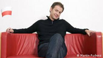Steffen Möller w barwach biało-czerwonych