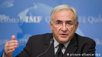 IMF Chief Dominique Strauss-Kahn