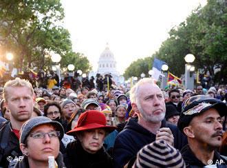 旧金山的示威者
