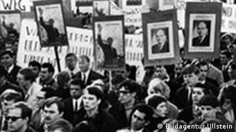 Διαδήλωση δικτατορία Δυτικό Βερολίνο