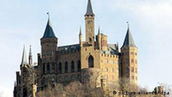 Deutschland Burg Hohenzollern bei Hechingen