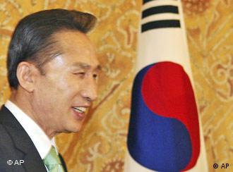 South Korea's President Lee Myung-bak