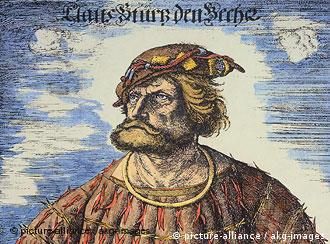 Legendary pirate Klaus Stoertebeker