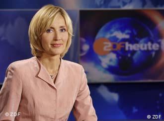 德国电视二台新闻节目主播格斯特