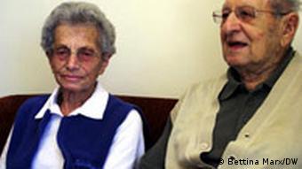 Heinz und Chava Kasmi Dossier Deutsche Juden in Israel Foto: Bettina Marx