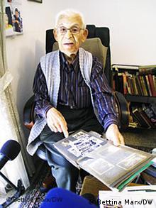 Hans Grünthal Dossier Deutsche Juden in Israel Foto: Bettina Marx