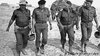 Israelische Soldaten im Sechstage-Krieg 1967 (Foto: dpa)
