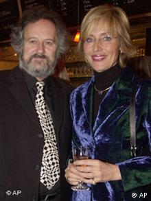 Die Fernsehmoderatorin Petra Gerster und ihr Mann Christian Nuernberger