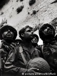 Bg60JahreIsrael Sechs-Tage-Krieg 1967 in Israel Eroberung Klagemauer