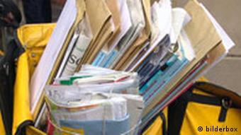 Письма в сумке почтальона