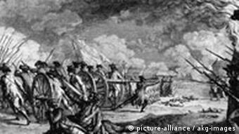 Amerikanischer Unabhängigkeitskrieg, 1775
