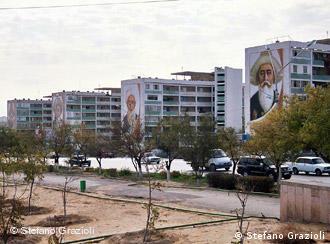 Город Актау в Казахстане