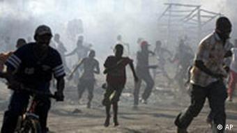 Unruhen in Haiti im März und April 2008, Foto: AP