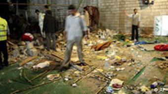 Bombenexplosion in Shiraz Iran
