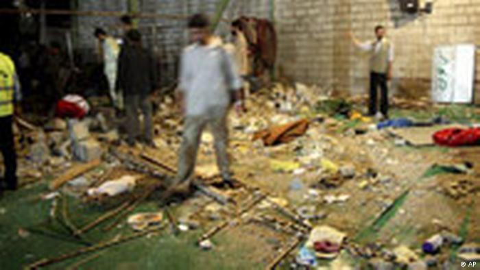 Iran Explosion in Moschee