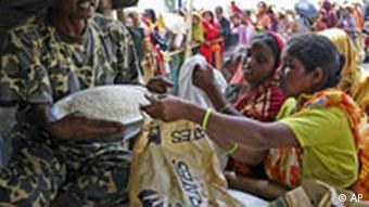 Poor and overpopulated Bangladesh is particularly vulnerable to soaring food prices