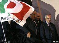 El ex- alcalde de Roma Walter Veltroni, reconoció la derrota.