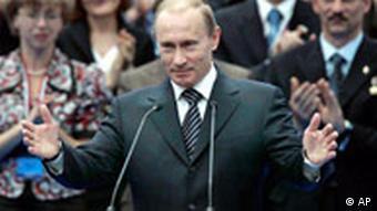 Putin Birleşik Rusya Partisi kongresinde