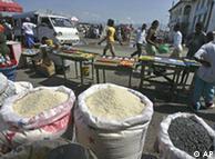 No Haiti, o arroz está cada vez mais caro