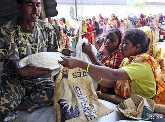 The price of rice has rocketed across the world