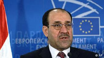 Iraq's Prime Minister Nuri al-Maliki