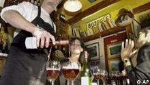 Der erste Beaujolais 2001 im Cafe Melac in Paris