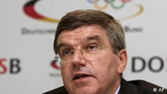 Thomas Bach, the head of the German Olympic Sports Association
