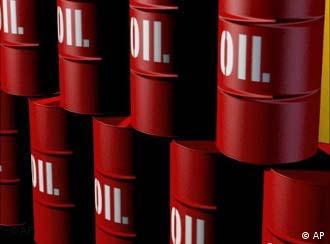 Цистерны с нефтью