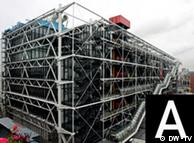 The Pompidou Centre in Paris