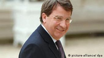 French Education minister Xavier Darcos