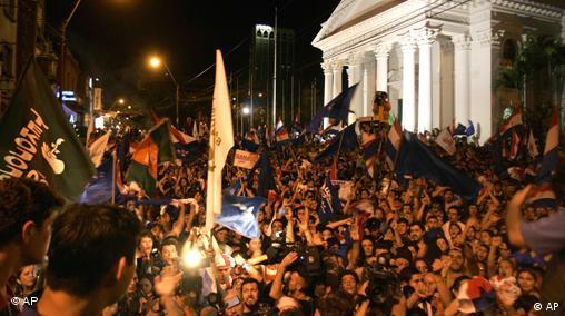 Paraguay Wahlsieg für Fernando Lugo
