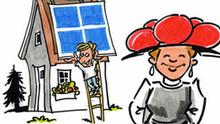Baden-Württemberg, Deutschland-Portal, Deutschland-Fakten, D-Portal, Michael Hüter, Karikatur, Grafik