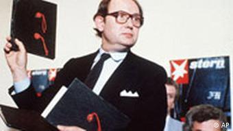 Der damalige Stern-Reporter Gerd Heidemann: Er zahlte für die angeblichen Original-Tagebücher (Foto: AP)