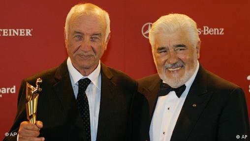 Deutscher Filmpreis an Armin Mueller-Stahl (freies Bildformat)