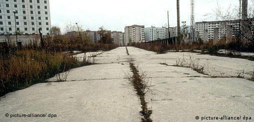 Ukraine Geisterstadt Pripjat nahe Tschernobyl
