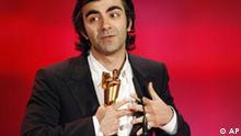 Regisseur Fatih Akin bei der Preisverleihung des Deutschen Filmpreises