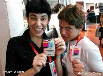 Tamae Garateguy y Camila Toker.