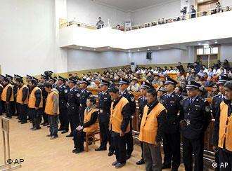 """4月29日,中国宣判了一批""""暴乱分子"""""""