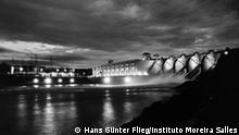 Hans Günter Flieg Wasserkraftwerk Barra Bonita, Rio Tietê, Staat São Paulo, um 1962 Mit freundlicher Genehmigung: Instituto Moreira Salles, Rio de Janeiro