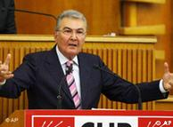 CHP lideri Deniz Baykal